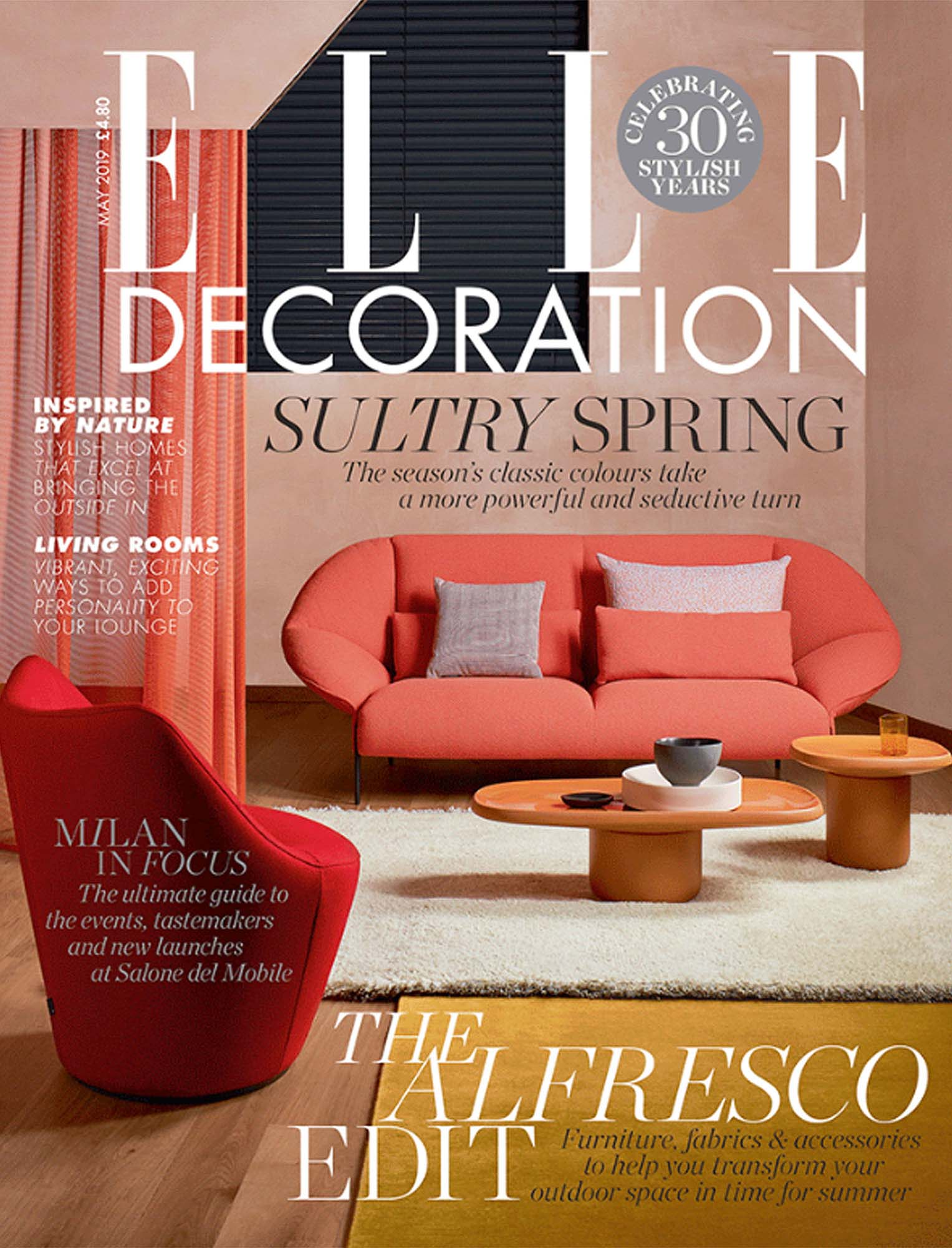Press Estiluz Elle Decoration May19 Cover