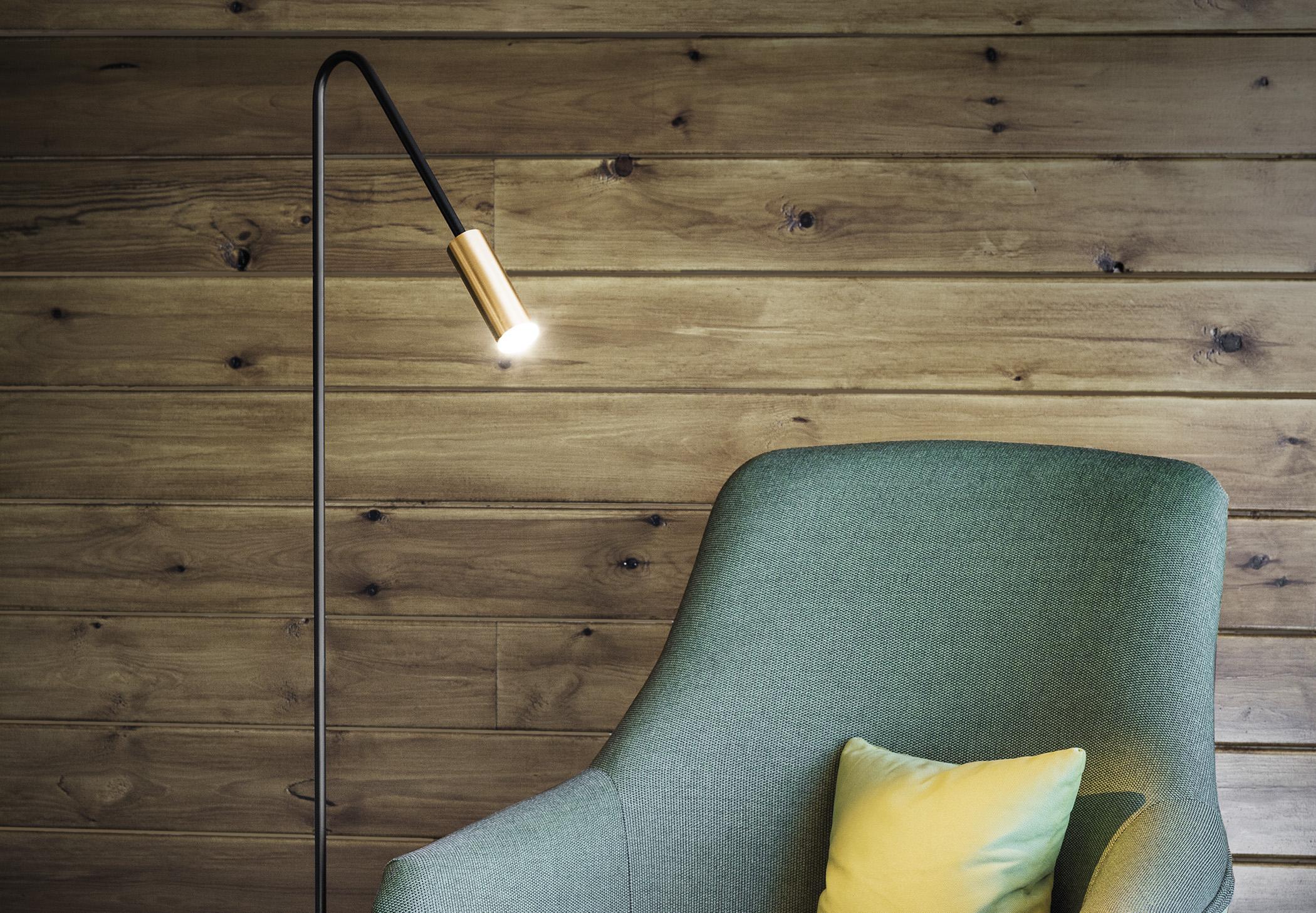 Volta P 3538 Floor Lamp Estiluz Image Ambient 01